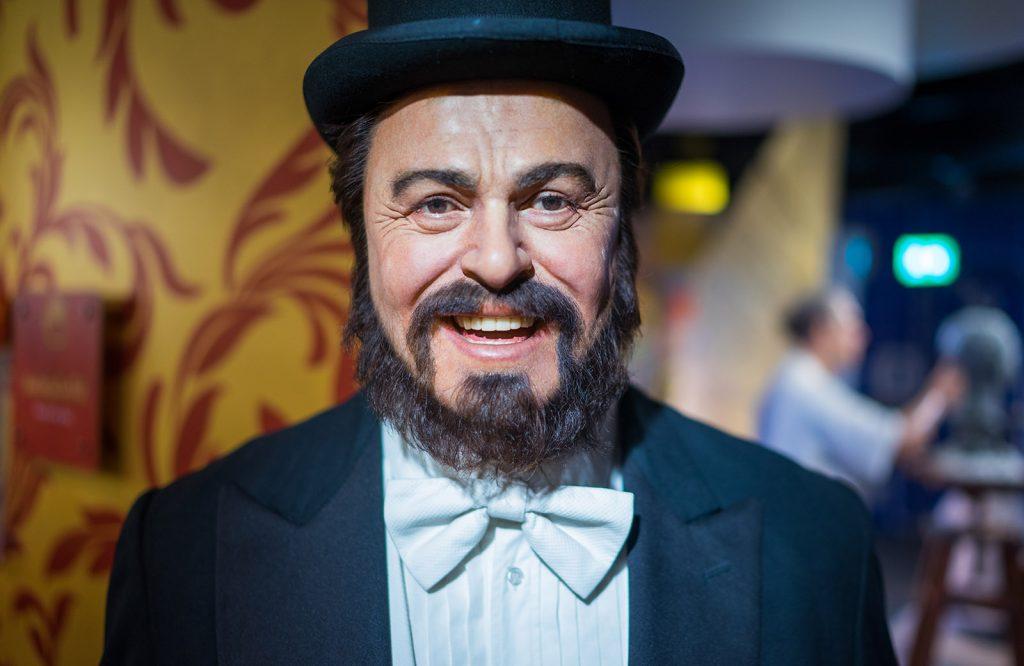 Pavarotti Madame Tussauds Bangkok