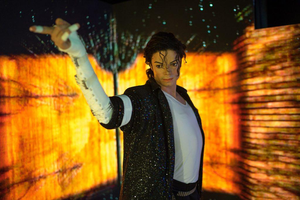 Michael Jackson Madame Tussauds Bangkok