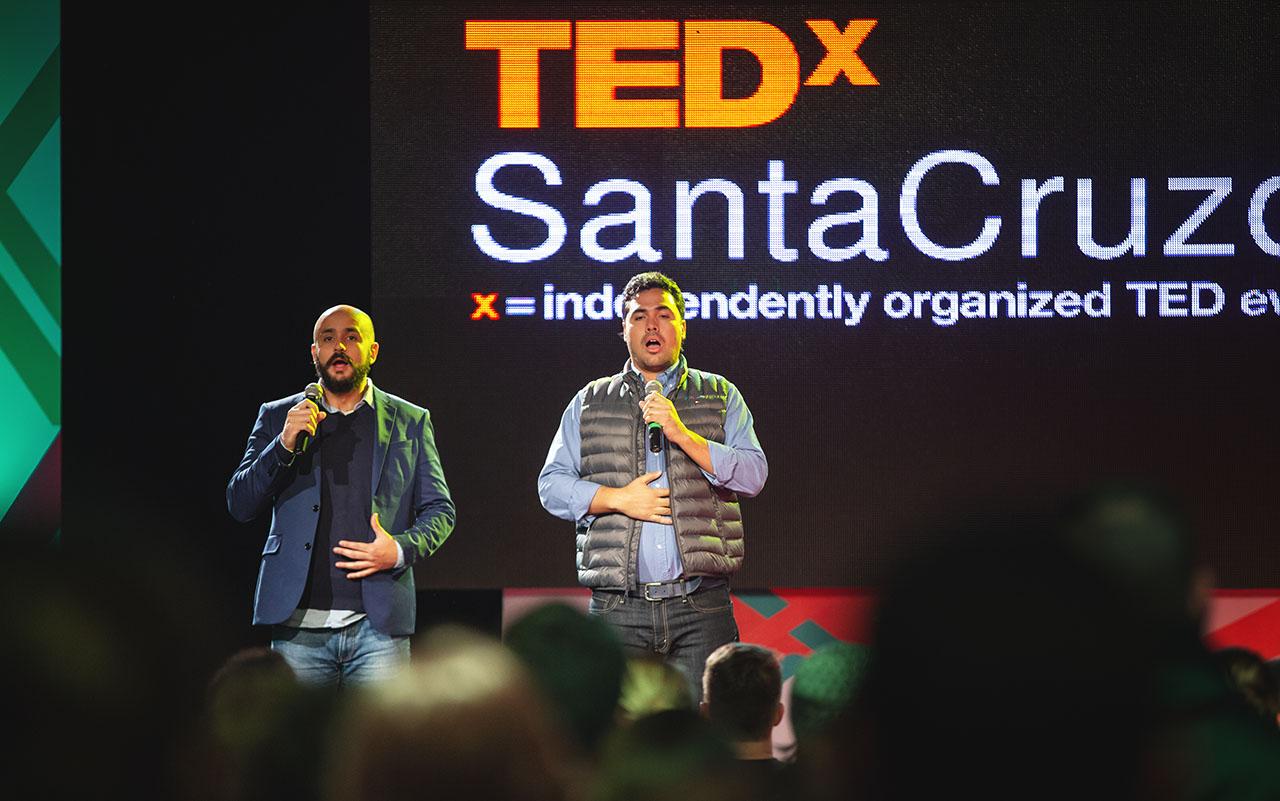 Rodrigo Otero Walter Arze Suárez TEDxSantaCruzdelaSierra