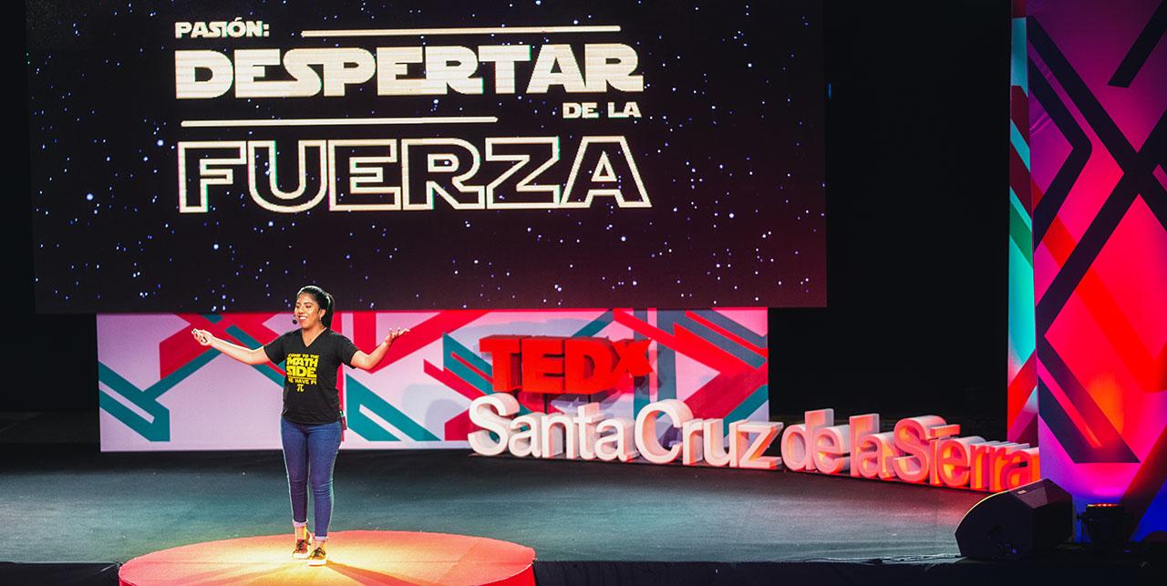 TedxSantaCruzdelaSierra Priscila Ontiveros